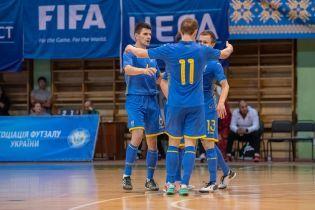 Сборная Украины по футзалу оказалась в десятке лучших команд Европы по итогам 2019 года