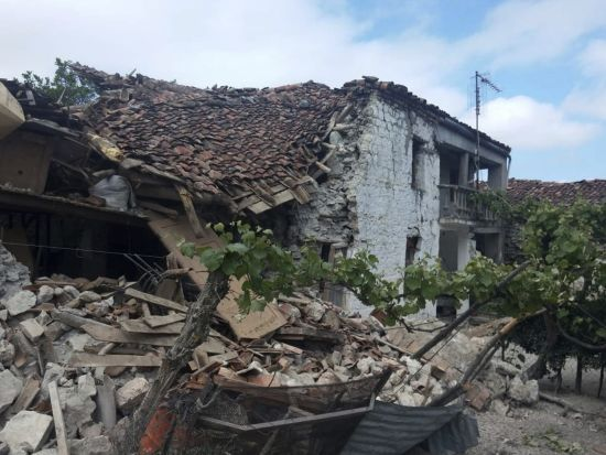 Біля узбереження Албанії стався новий потужний землетрус
