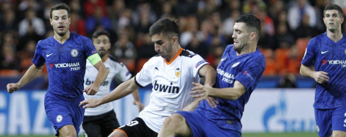 """""""Челси"""" и """"Валенсия"""" разошлись боевой ничьей и до предела закрутили интригу за выход в плей-офф"""