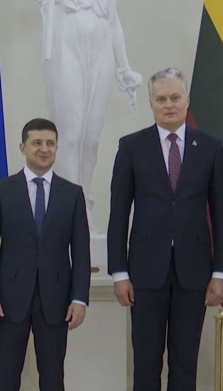 Зеленський та Науседа обговорили санкції проти Росії, звільнення бранців та курс України до НАТО