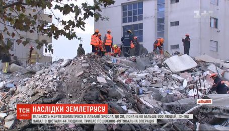 После разрушительного землетрясения албанцы почувствовали новые подземные толчки