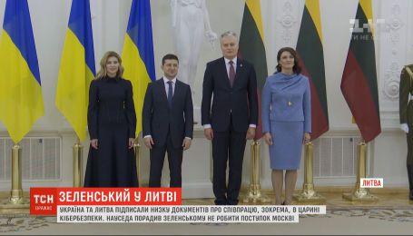 Зеленский и Науседа обсудили санкции против России, освобождения пленников и курс Украины в НАТО