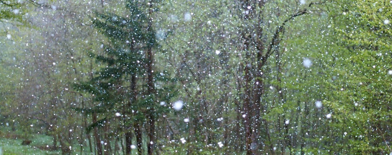 Погода на четвер: в Україні місцями мокрий сніг та дощ