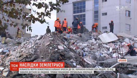 Нові підземні поштовхи зафіксували в Албанії – внаслідок стихії загинули 30 людей