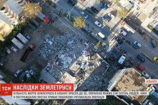 До 35 возросло число погибших в результате разрушительного землетрясения в Албании