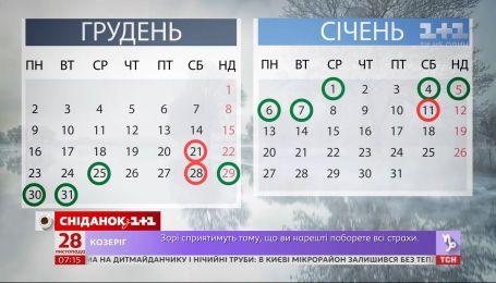 Зимой у украинцев будет больше выходных – экономические новости