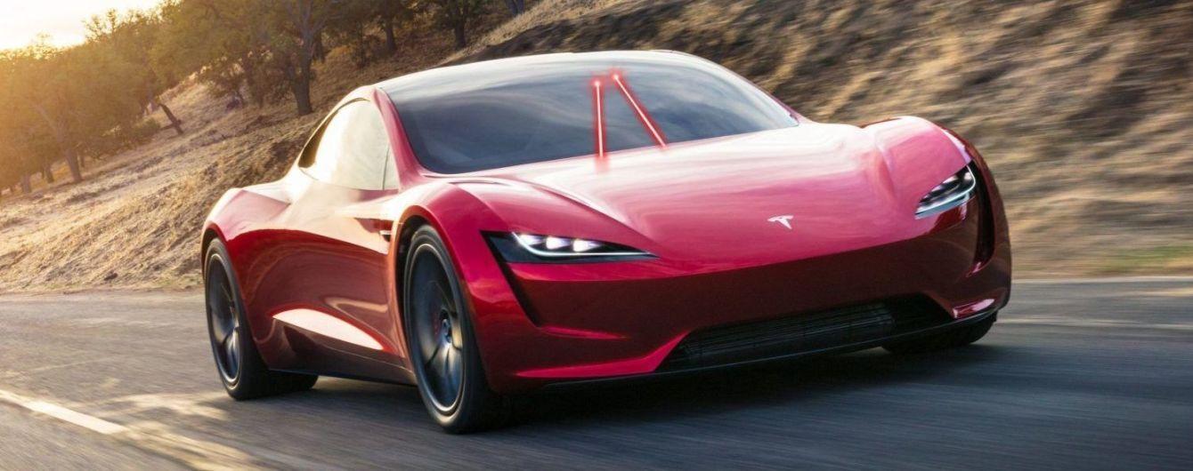 Tesla запатентувала двірники-лазери для електрокарів