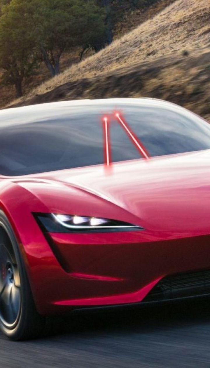 Tesla запатентовала дворники-лазеры для электрокаров