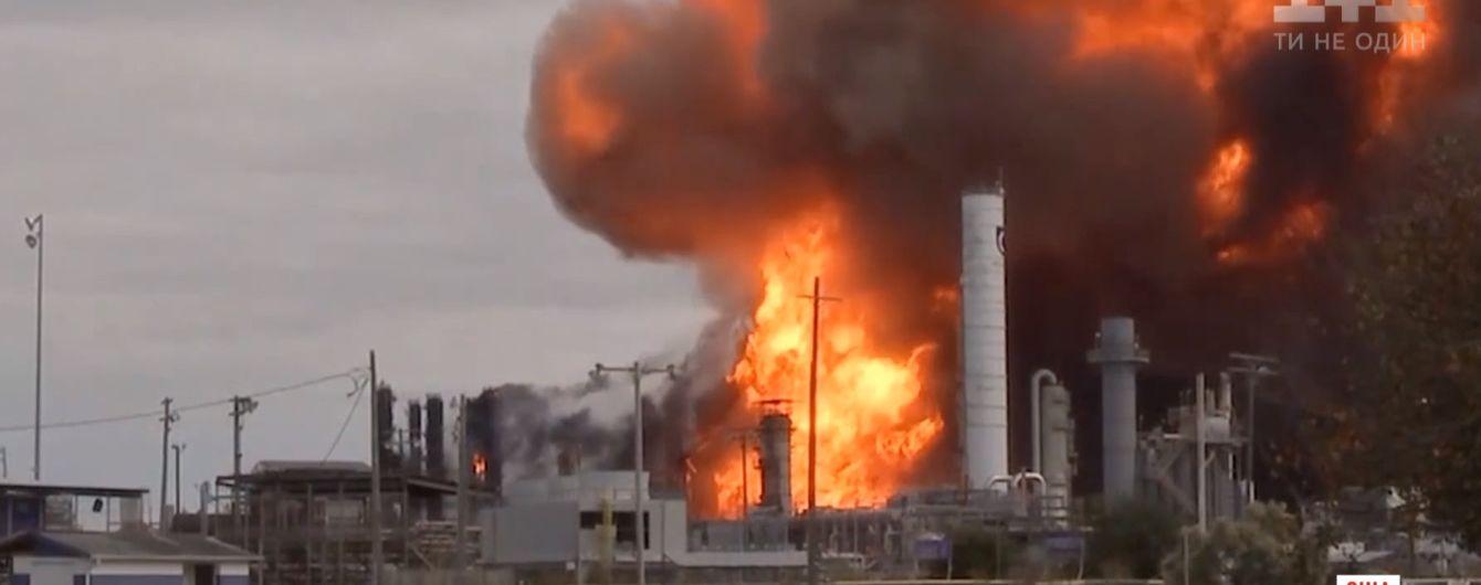 На хімзаводі Техасу стався потужний вибух