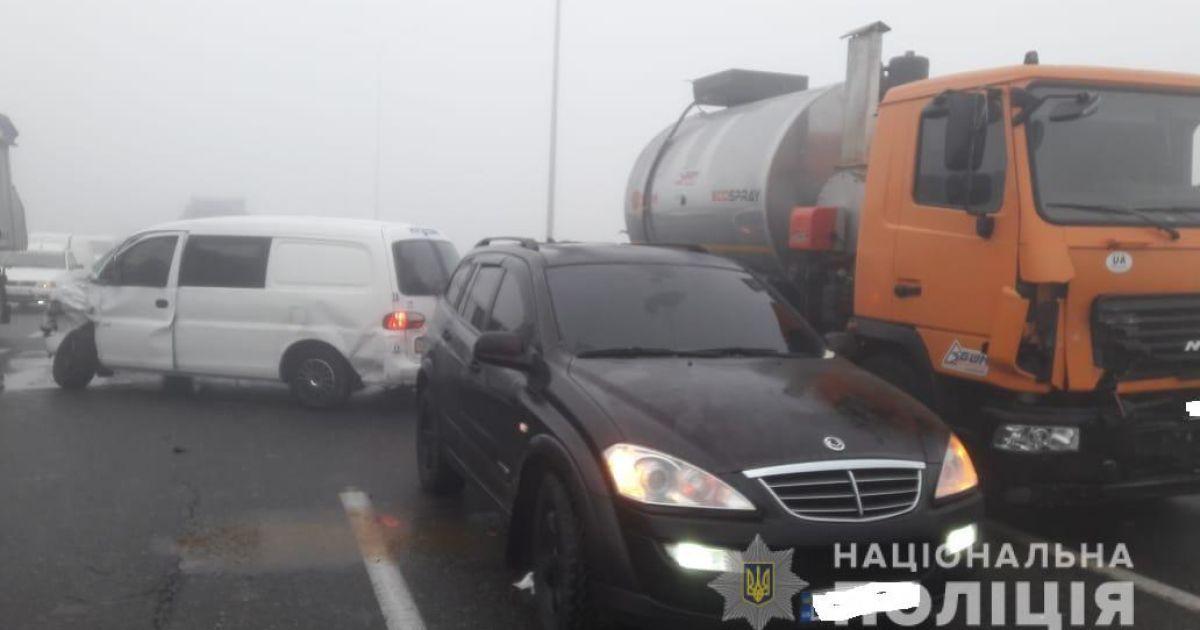 Фото з місця аварії @ ГУ Національної поліції в Одеській області