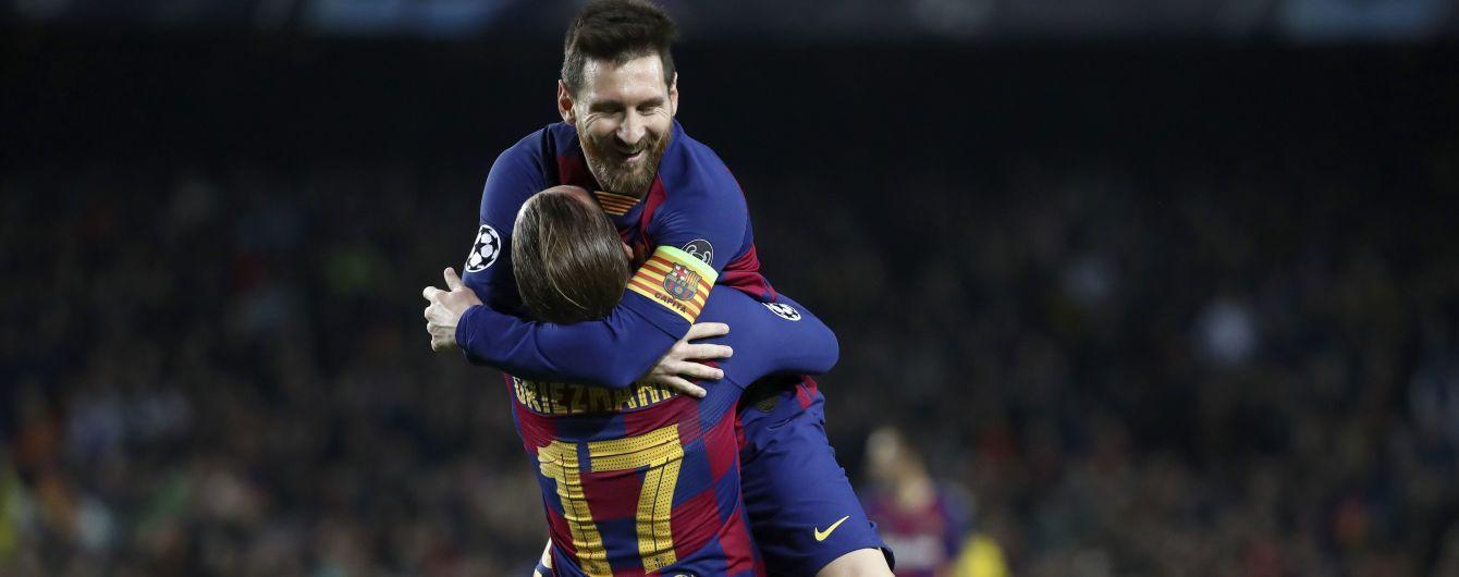 """Мессі провів 700-й матч за """"Барселону"""" і встановив рекорд Ліги чемпіонів"""