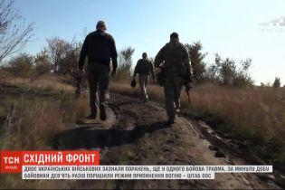 За минулу добу бойовики 9 разів порушили режим припинення вогню на фронті