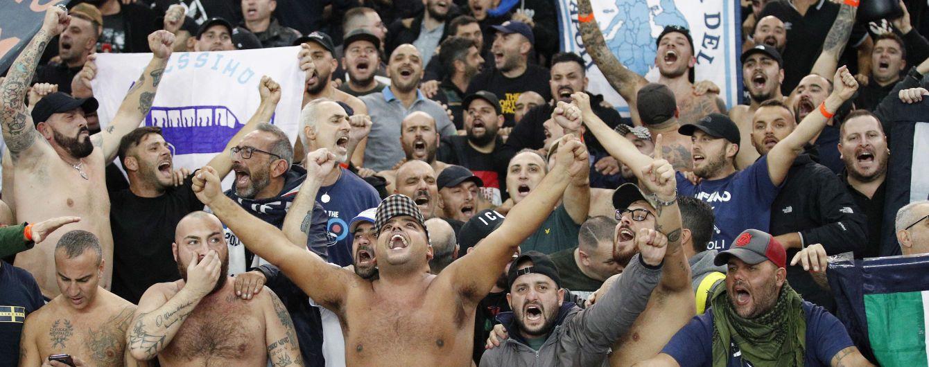 """Фанаты """"Наполи"""" устроили беспорядки в Ливерпуле перед матчем Лиги чемпионов"""