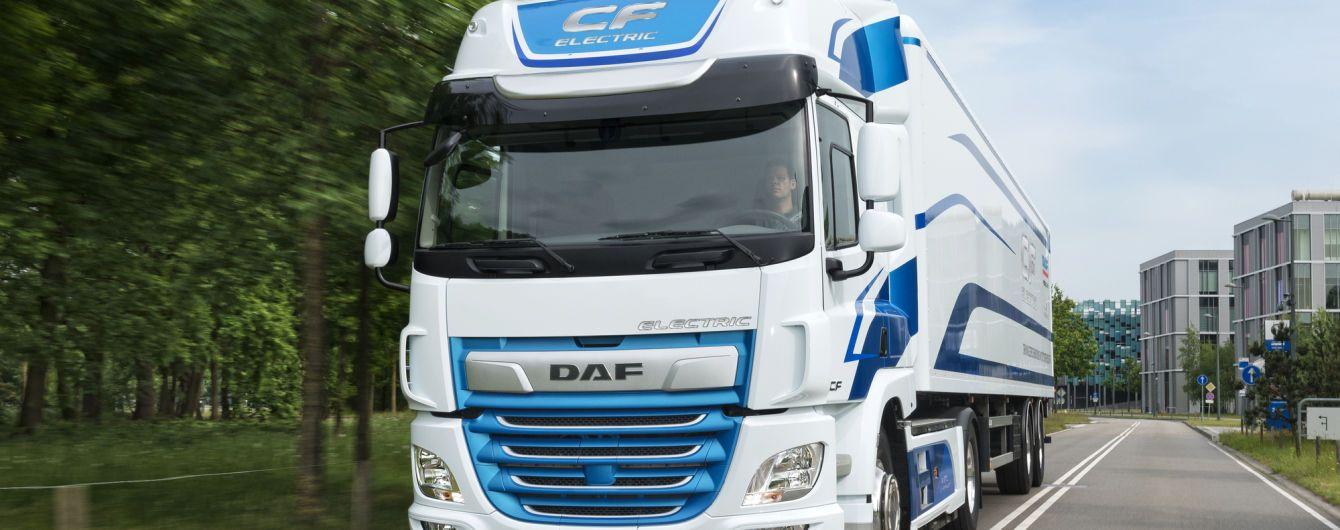 DAF запускает продажи електрофур в Европе