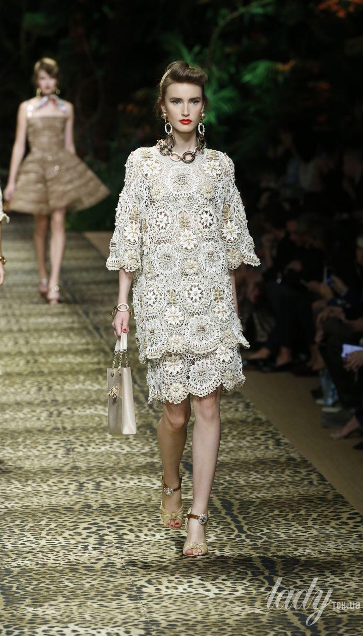Коллекция Dolce & Gabbana прет-а-порте сезона весна-лето 2020 @ Credits