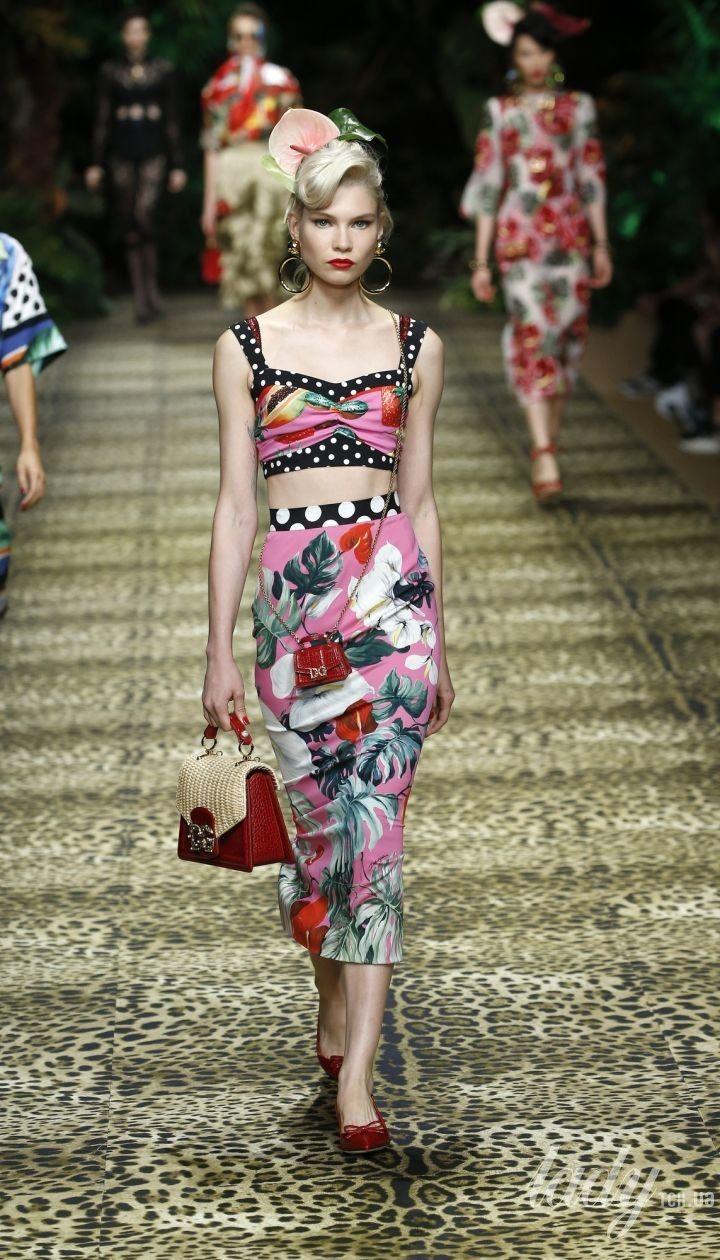 Колекція Dolce & Gabbana прет-а-порте сезону весна-літо 2020 @ Credits