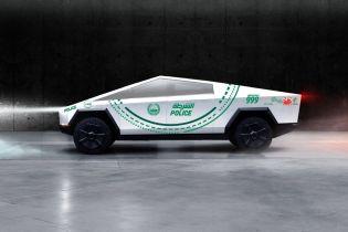 Автопарк полиции Дубая планируют пополнить пикапом Tesla