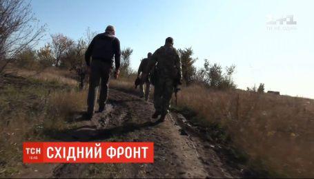 Трое украинских бойцов получили ранения на восточном фронте
