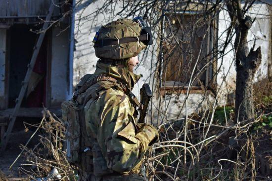 У Мар'їнці над позиціями українських військових помітили ворожий безпілотник