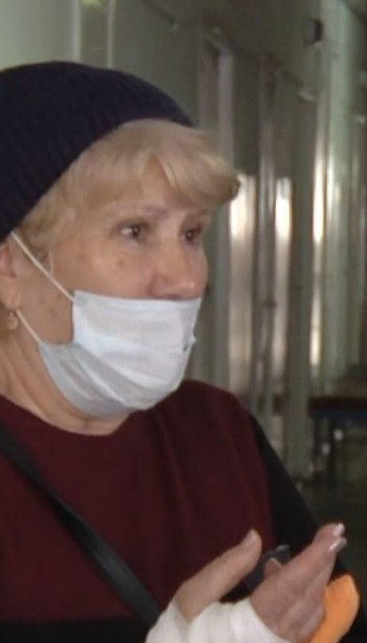 Женщине оторвало полпальца дверью маршрутки в Кропивницком