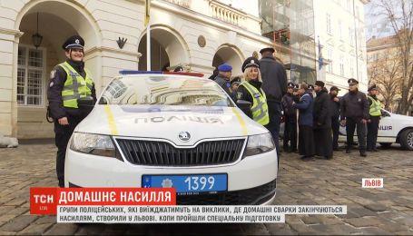 У Львові створили групи поліцейських, які реагуватимуть на насильство у сім'ї