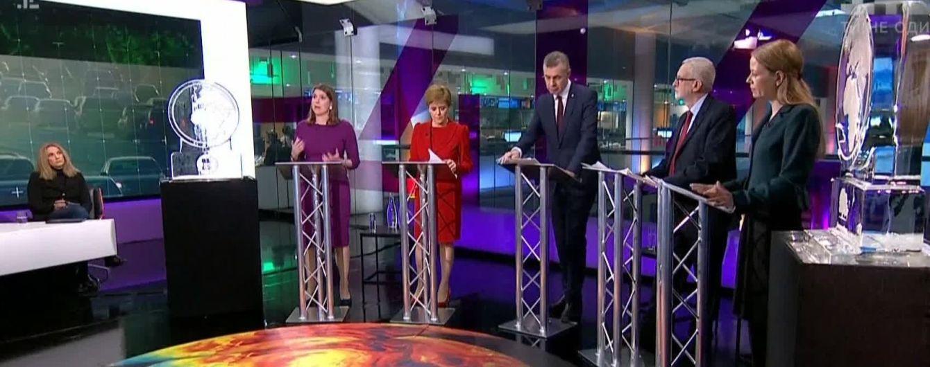 В эфире телеканала премьера Британии Джонсона заменили на ледяную глыбу