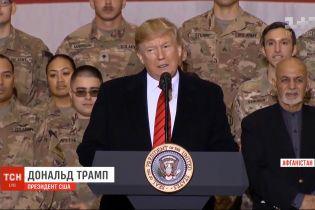 За весь час свого президентства Трамп вперше прилетів до Афганістану
