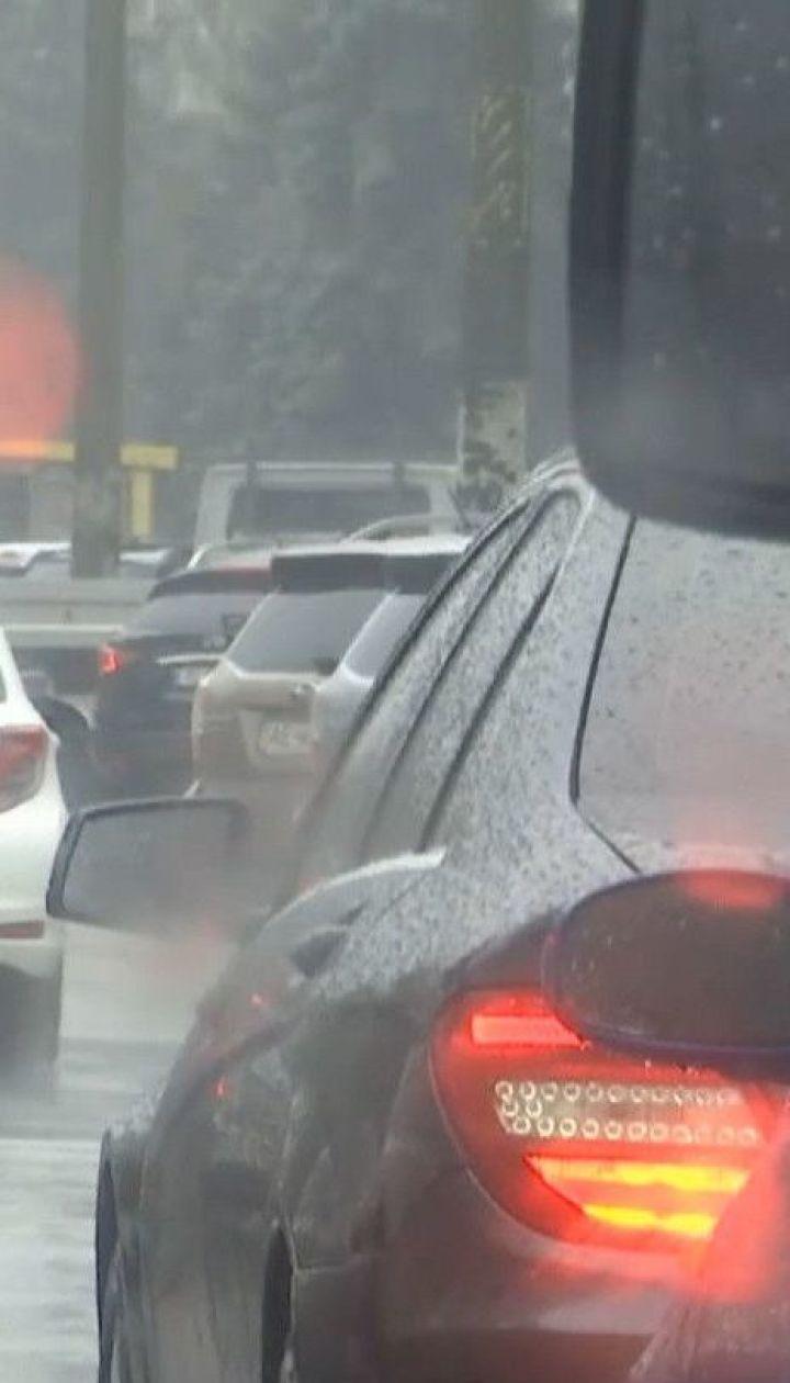 Теплою, але мокрою буде в Україні остання осіння п'ятниця
