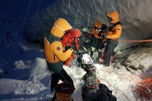 Словацкие спасатели показали фото с места гибели украинских альпинистов и рассказали детали