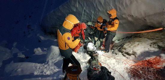 Словацькі рятувальники показали фото з місця загибелі українських альпіністів та розповіли деталі