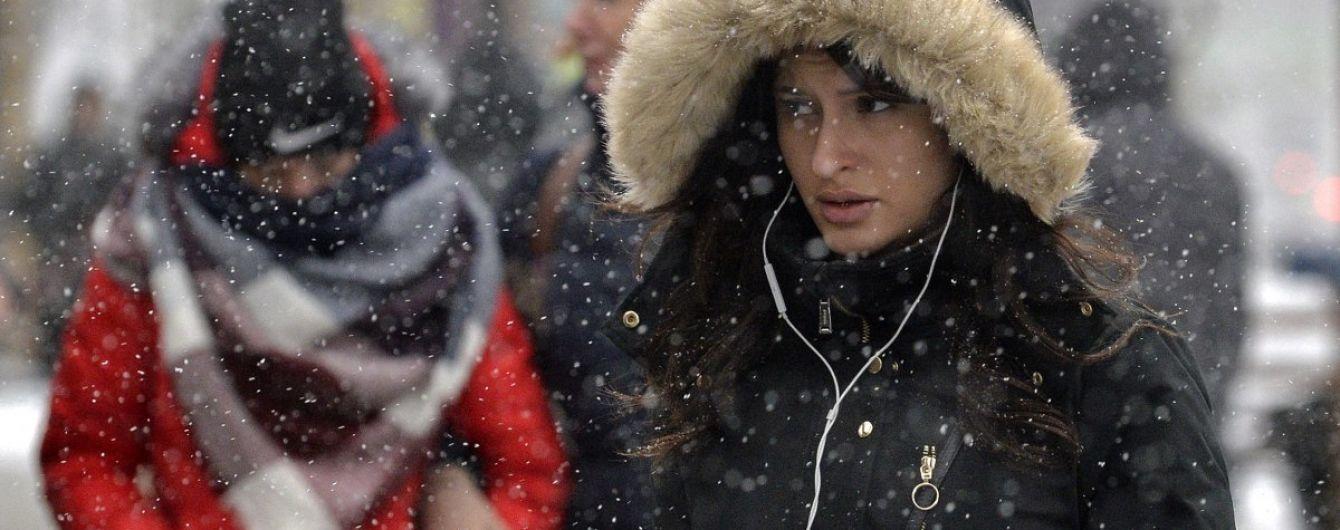 Мокрый снег, гололед и дожди: погода в Украине на выходные