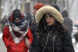 Мороз ночью и мокрый снег днем. Какой будет погода в Украине 22 марта