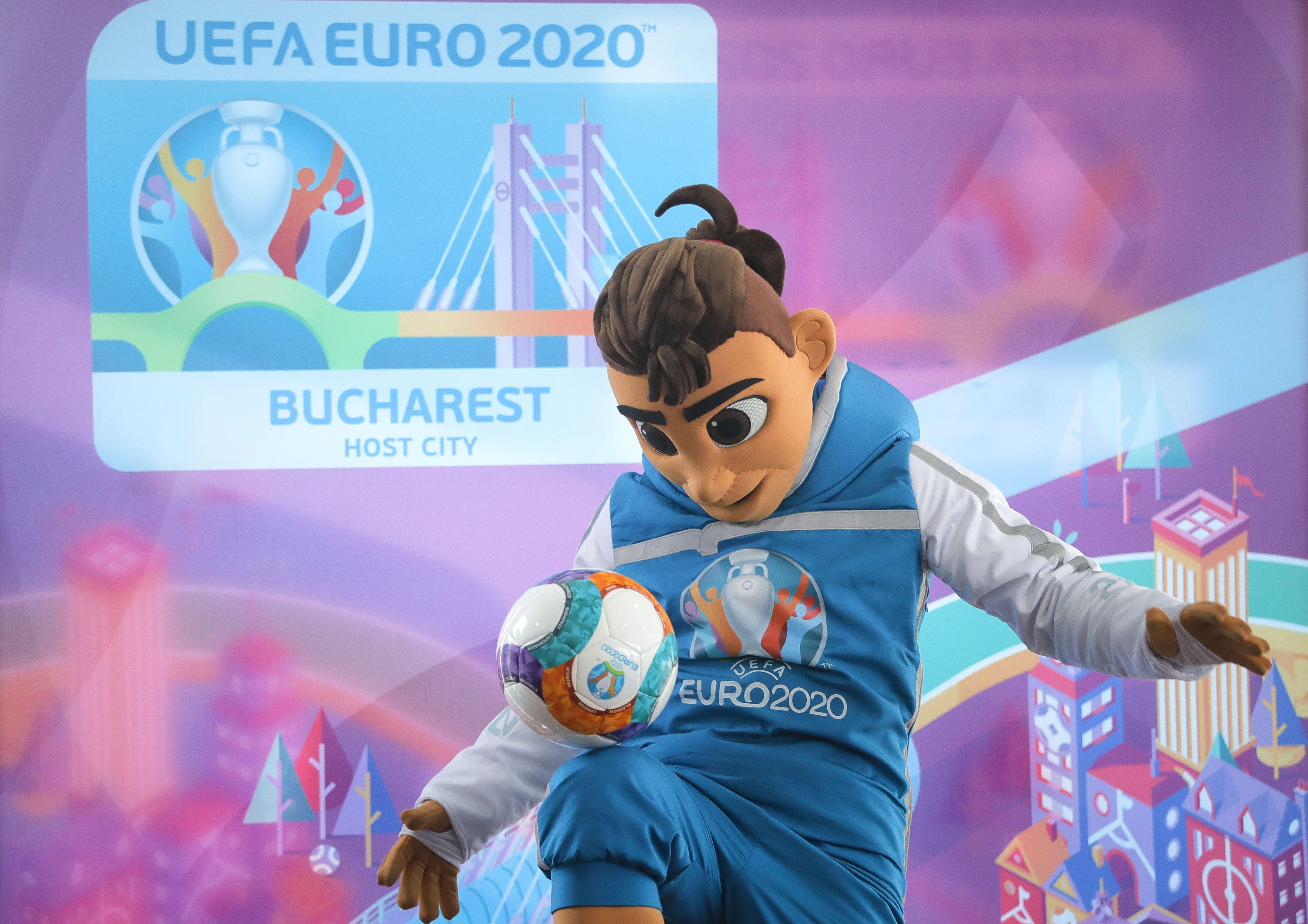 Євро-2020, талісман Скіллзі