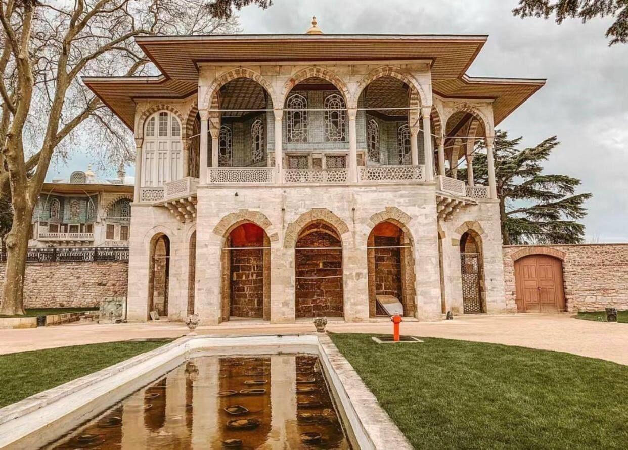 палац Топкапи в Стамбулі