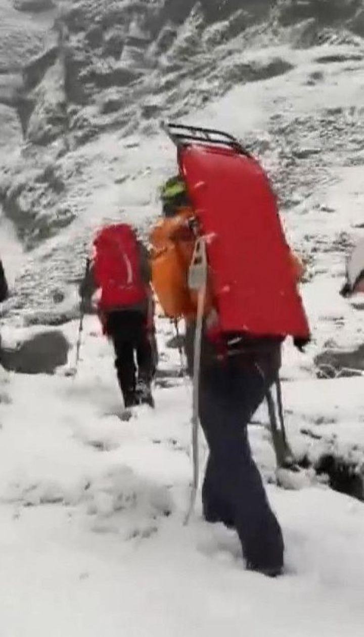 Во время спуска с маршрута в Словакии погибли двое украинских альпинистов