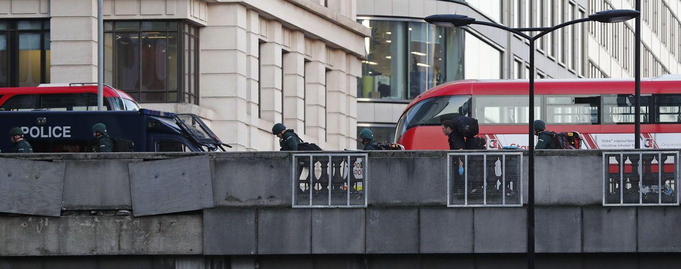 Поліція назвала напад на Лондонському мосту терактом