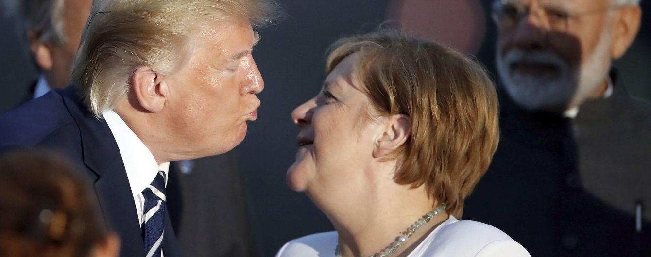 Меркель і Трамп зустрінуться наступного тижня
