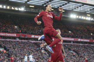 """""""Ливерпуль"""" в меньшинстве удержал победу над """"чайками"""" и увеличил отрыв от """"Манчестер Сити"""""""