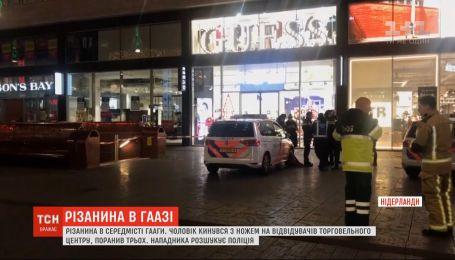 У торговому центрі в Нідерландах чоловік поранив ножем трьох неповнолітніх