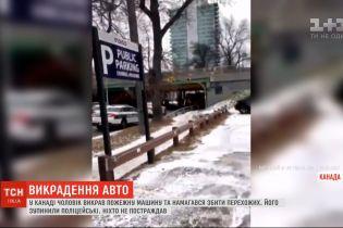 У Канаді чоловік викрав пожежну машину і намагався збити перехожих
