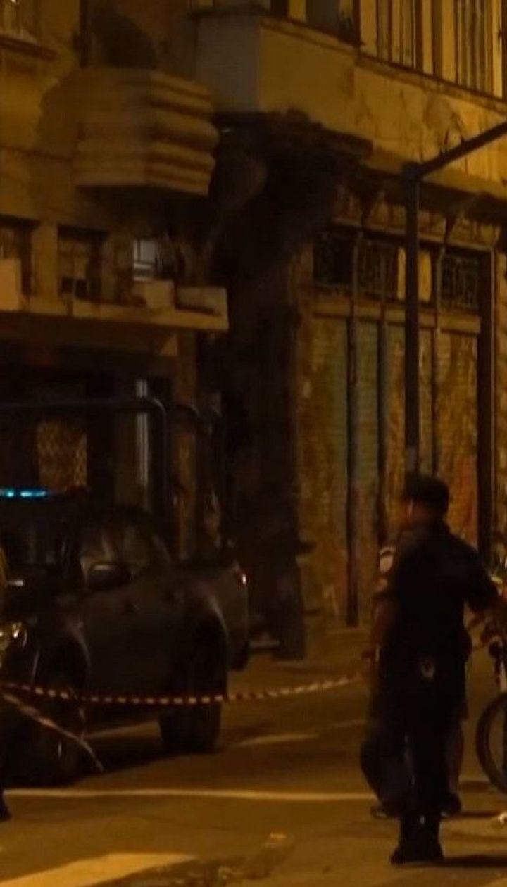 В Рио-де-Жанейро мужчина взял в заложники посетителей одного из баров