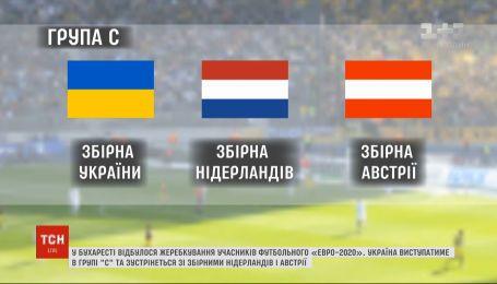 У Бухаресті триває жеребкування на футбольне Євро-2020