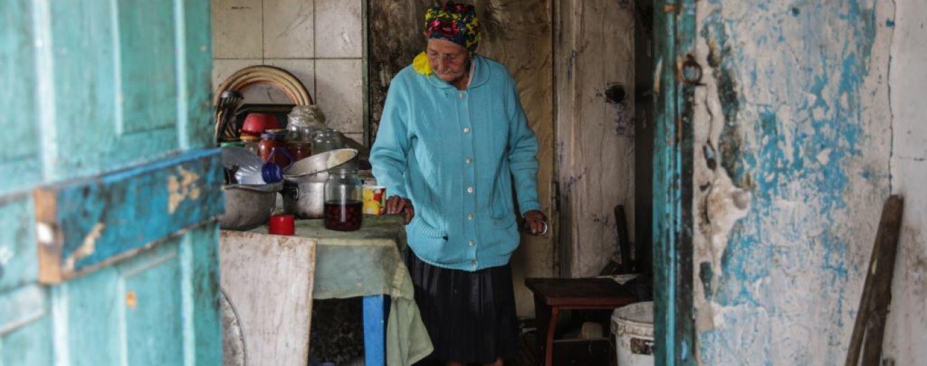 """В Опытном возле Донецкого аэропорта полностью сгорел дом """"бабы Маши"""""""