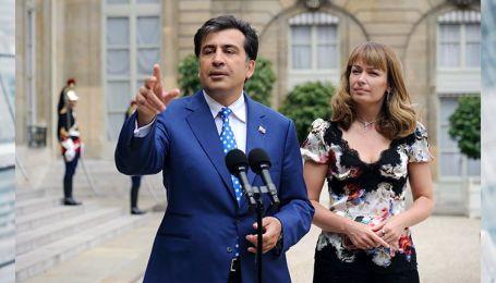 Жена Саакашвили рассказала, насколько трудно ей жить вдали от мужа