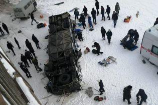 Людей розчавило автобусом. Опубліковані фото та відео з місця ДТП у РФ, де загинули 19 осіб