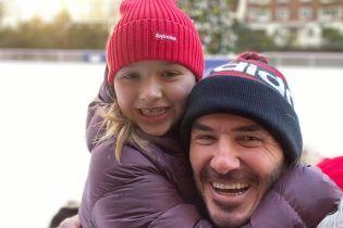Вікторія Бекхем замилувала знімком чоловіка з підрослою дочкою