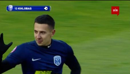 Десна - Олександрія – 1:0. Відео голу Хльобаса
