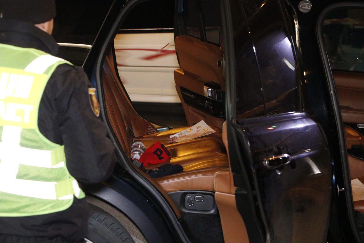 У Києві стріляли в Range Rover_2