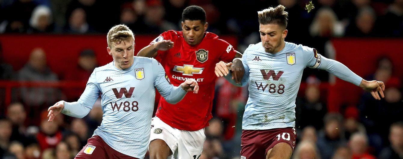 """АПЛ. """"Манчестер Юнайтед"""" розписав результативну нічию з """"Астон Віллою"""", """"Лестер"""" зберіг друге місце"""