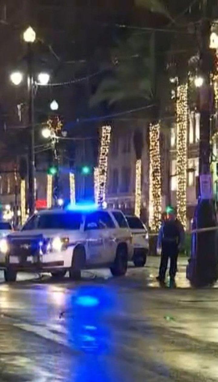 Неизвестный открыл огонь в Новом Орлеане, 11 человек травмированы